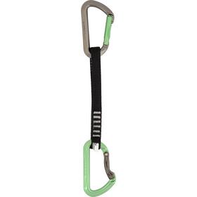 DMM Aero QD Carabiner 18 cm Unisex titanium/apple green